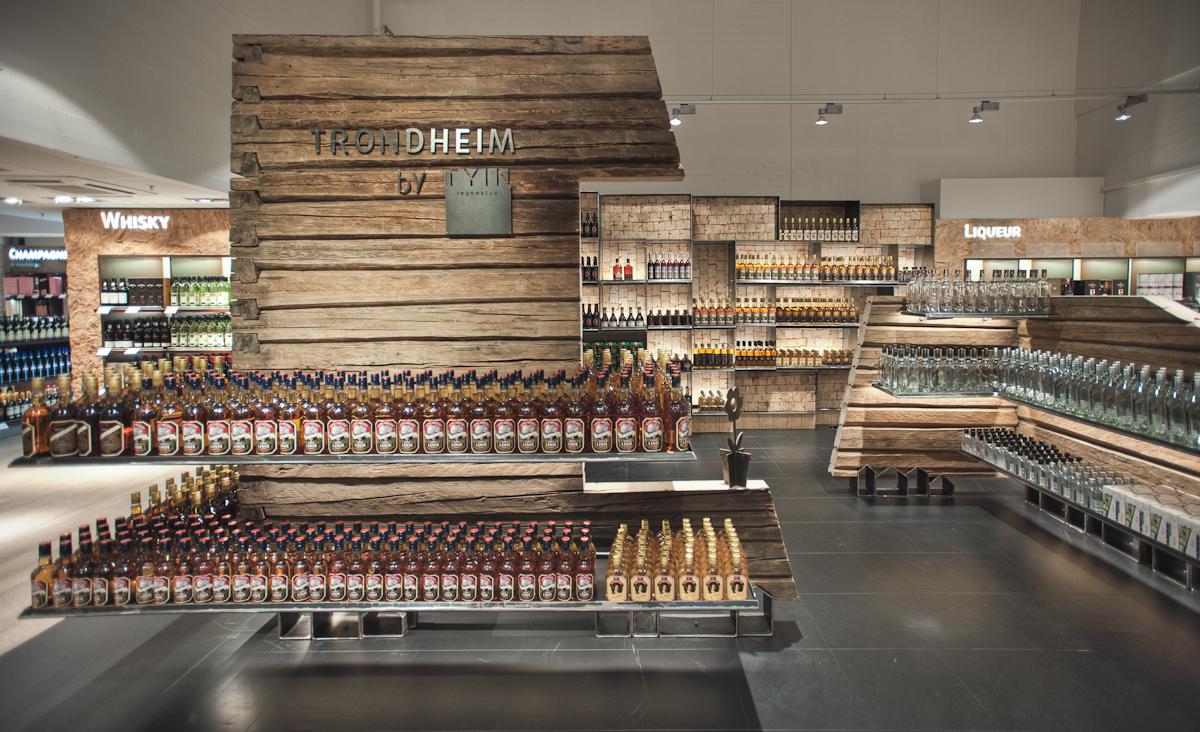 回收一棟小木屋,地域性的室內設計_挪威機場商店TYIN tegnestue Architects