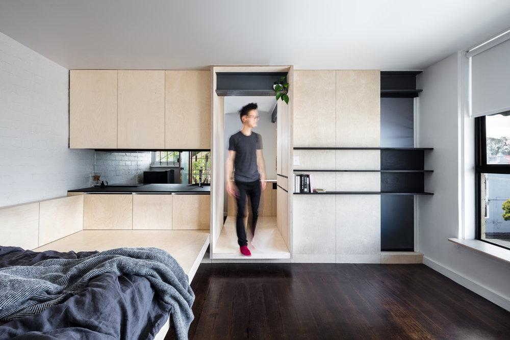 小坪數室內設計,J-IN-Micro Apartment Design George