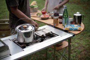 【行動廚房】SnowPeak 露營餐桌廚房系列,IGT框架完整介紹。